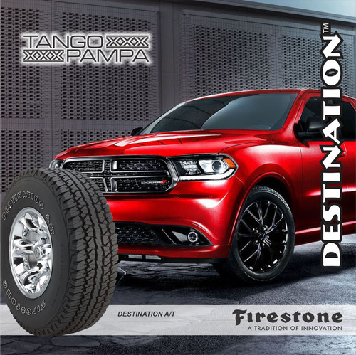 2u 205/65 r15 firestone destination a/ t envío + cuotas $0