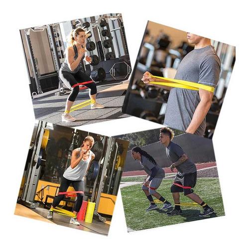 2x banda resistencia elástica liga azul 15-20lb crossfit gym