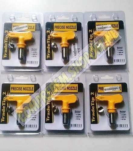 2x bico de pintura para pistolas airless - 2 unidades