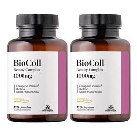 2x Biocoll - Colágeno Verisol + Biotina + Hialurônico  Bahia