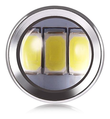 2x bombillos led luz stop blanco 33leds- 1.600lm c/u
