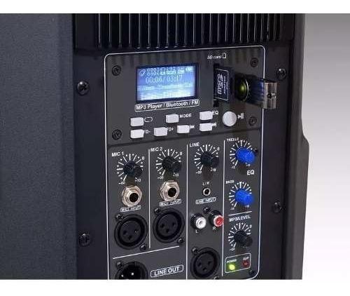 2x caixa staner sr315a usb/bluetooth staner sr315 ativa