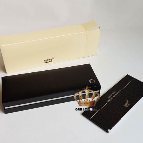 2x caixas para caneta mont blanc