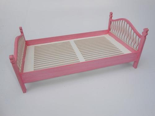 2x cama casal barbie 1:12  p/monta dollhouse móveis
