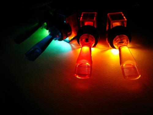 2x chave neon liga desliga som modulo iluminado vermelho