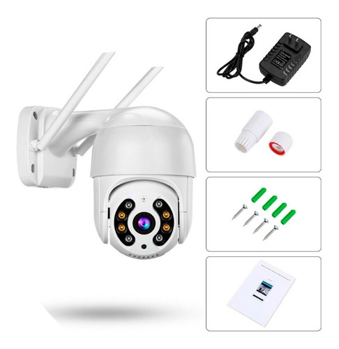2x câmera segurança smart ip wifi icsee mini dome a8