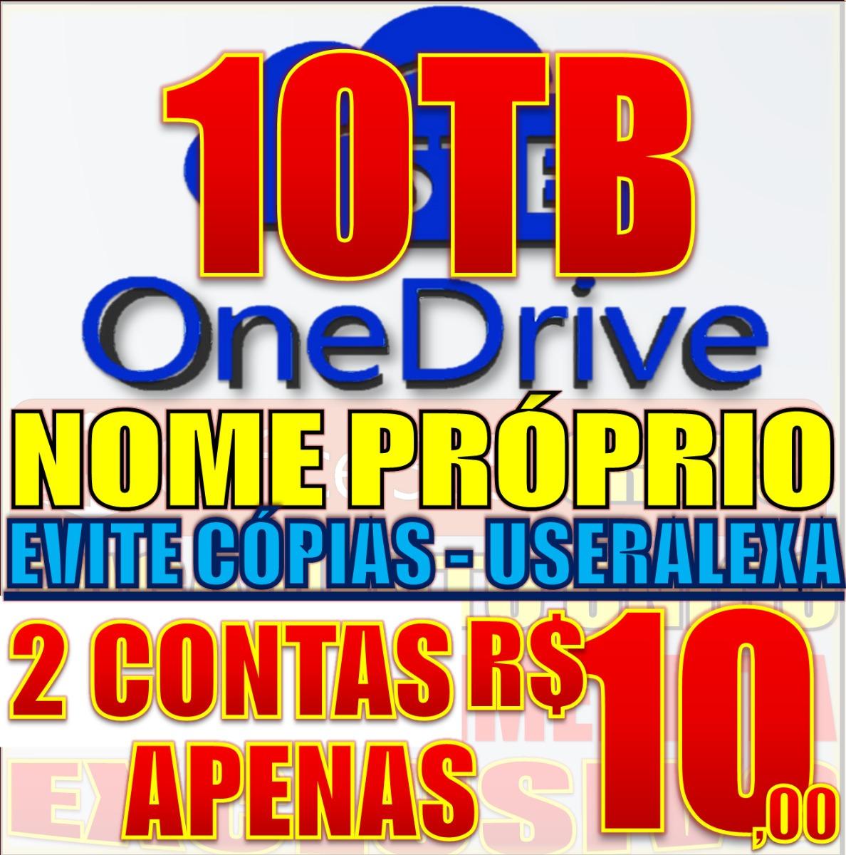 2x Contas Onedrive 5tb + Office 365 Melhor Que Google Drive