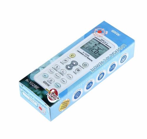 2x control remoto universal  aire acondicionado minisplit lg