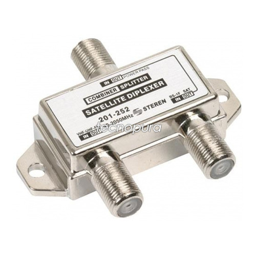 2x diplexor / mezclador para señal de satélite y vhf uhf