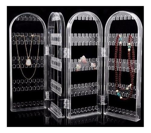 2x expositor e organizador de brincos colares jóias