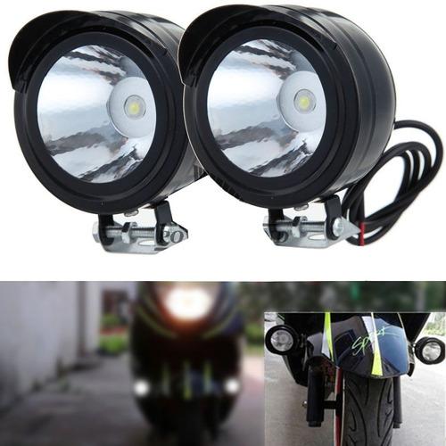 2x focos neblineros auxiliar para motos 1 led bajo consumo