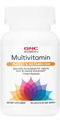 2x gnc women's ultra mega energy metabolism feminino 90 cáps