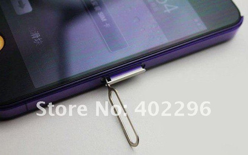 2x grampo ejetor extrator chip sim card apple ipad iphone 4