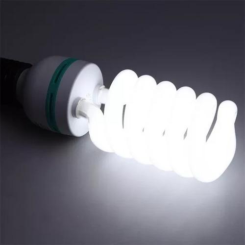 2x lâmpada fria e27 85w 5500k estúdio softbox 110v 220v
