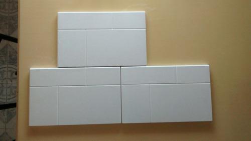 2x moldes para placa antihumedad