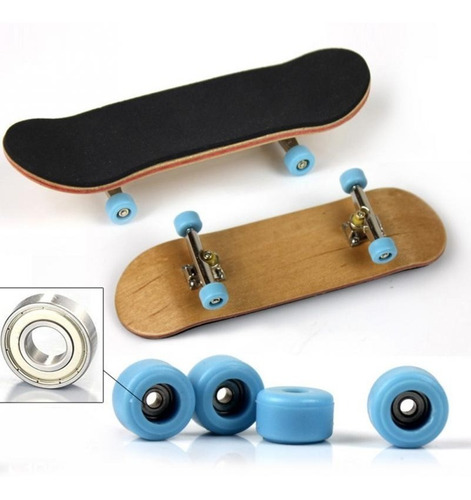 2x patineta fingerboard profesional tipo tech deck