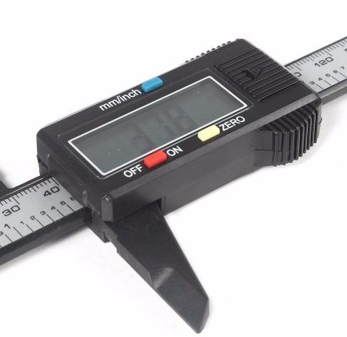 2x pie de metro 6 pulgadas calibrador digita