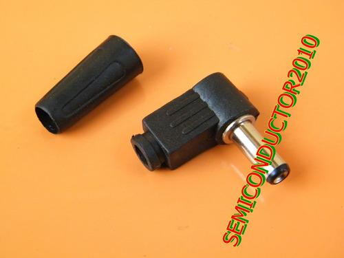 2x plug dc alimentacion conector 2.5mm