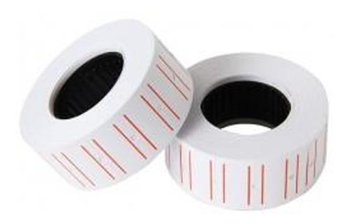 2x rollo etiquetas x 10 para maquina etiquetadora