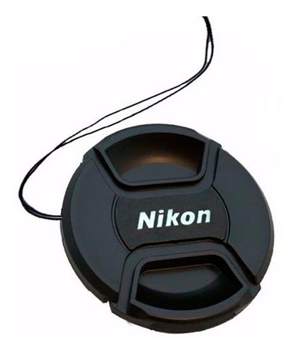 2x tapa frontal para lentes objetivos nikon diámetro 52mm