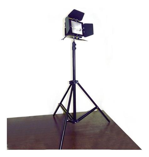 2x tripé + colortran 78mm c/ lâmpada fad 650w 110v- estúdio