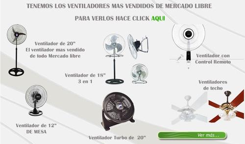 2x ventilador de techo 605 tulipa nacional 5 años garantia