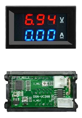 2x voltimetro digital dual digital dsn-vc288 10a