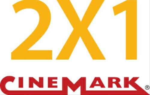 2x1 entradas cinemark,2d, 3d, xd