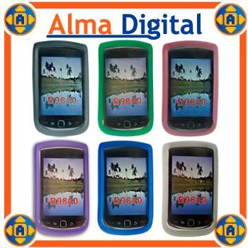 2x1 forro acrigel blackberry torch 9800 gel manguera