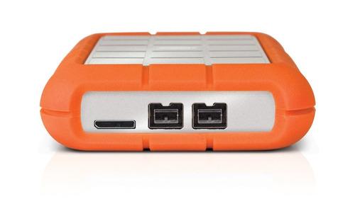 2x1= kit disco duro externo 1tb lacie + teclado multimedia
