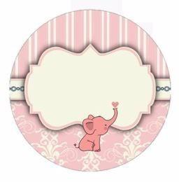 2x1 kit imprimible tarjetas con elefantes  varias ocasiones