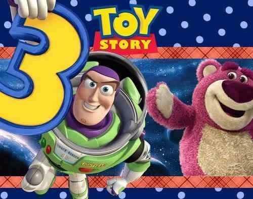 2x1 kit imprimible toy story 3  tarjetas , cumples y mas