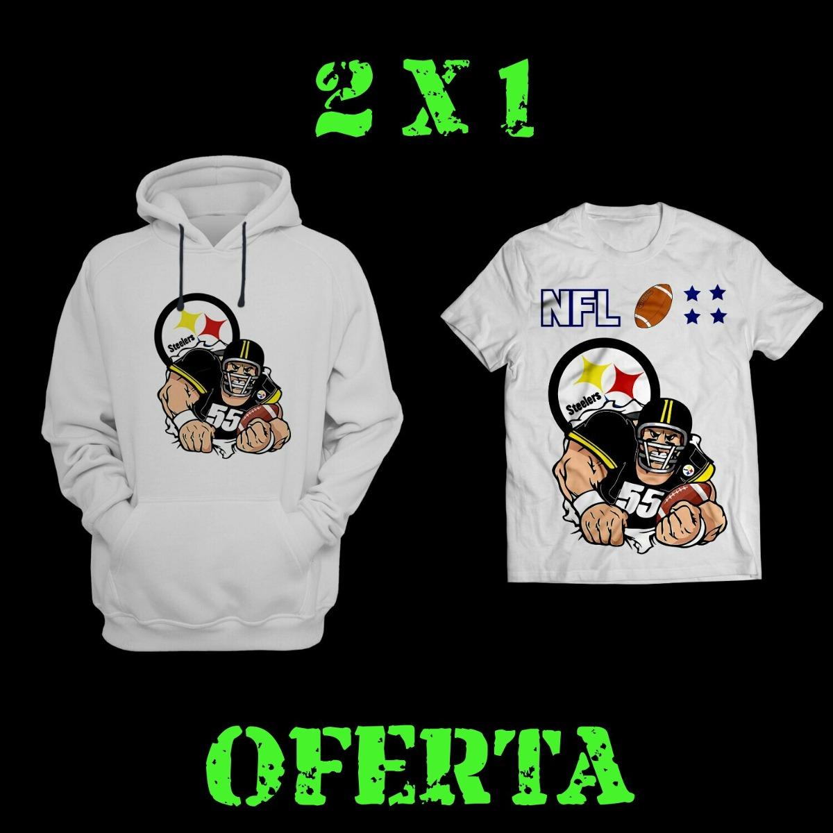 0a9fcee30f08c 2x1 Playera Y Sudadera Fútbol Americano Nfl -   350.00 en Mercado Libre