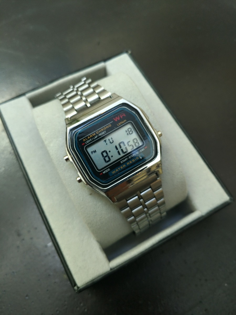 c330e06ce727 2x1 reloj tipo casio a158 moda promo compra 2 a precio de 1. 4 Fotos