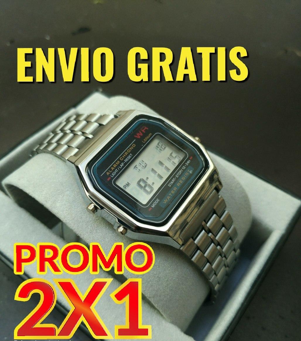 36387a30ad3c 2x1 Reloj Tipo Casio A158 Moda Promo Compra 2 A Precio De 1 ...