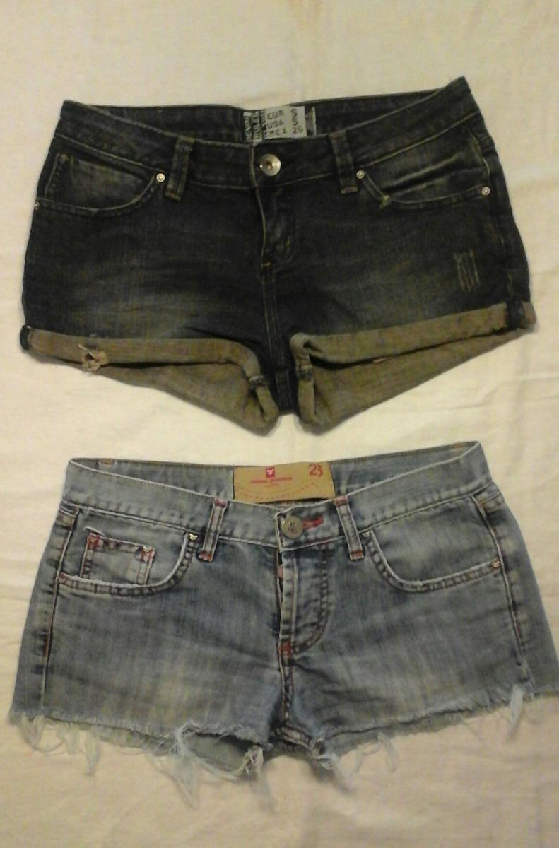 502148e098 2x1 Shorts Kosiuko Mujer + Otro Zara Pantalon Corto Jeans Ts -   280 ...