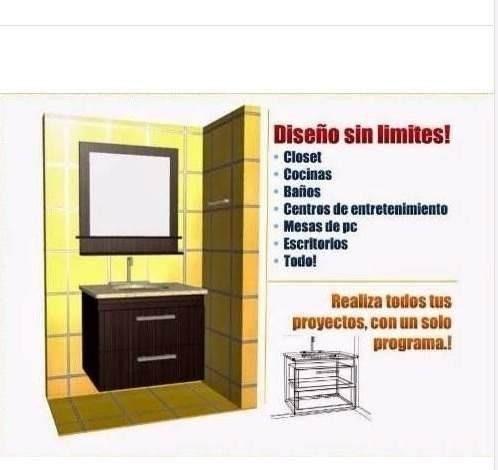 2x1 Software De Crear Y Desglosar Muebles: Cocinas Y Closets - $ 99 ...