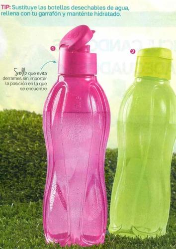 2x1 tomas suficiente agua?botella de 1lt.tupperwere. oferta