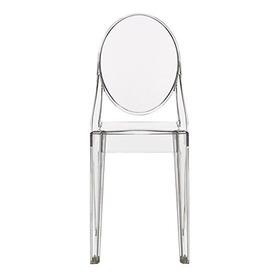 2xhome Victoria Ghost Side Chair Silla De Acrilico Transpare