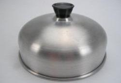 3 abafadores de hamburguer alumínio para lanchonete