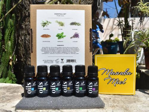 3 aceite esencial lavanda menta incienso árbol te eucaipto