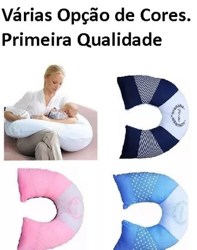 3 almofada para amamentação - travesseiro de amamentar luxo