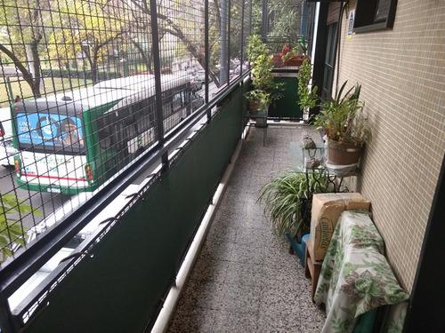 3 amb al frente balcon corrido vista parque rivadavia