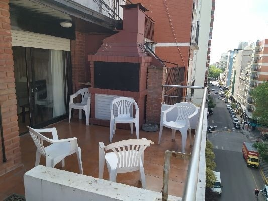 3 amb con terraza y parrilla - tv cable y wifi - disponible marzo 2020
