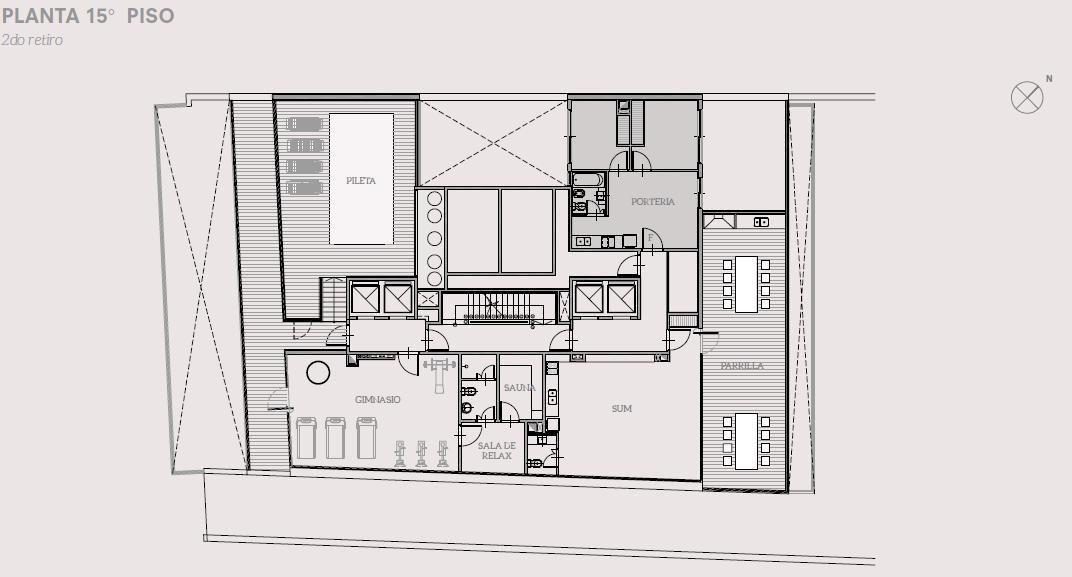 3 amb de 75.28 m2 - calidad de construcción y amenities