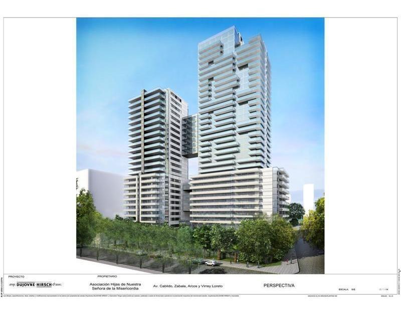 3 amb - piso altísimo - arcos y loreto - torre weik a estrenar