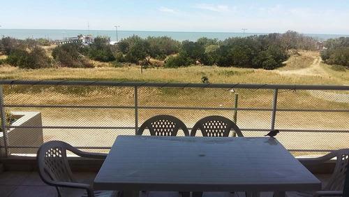 3 amb vista al mar!! balcon terraza,parrilla cochera,wi fi
