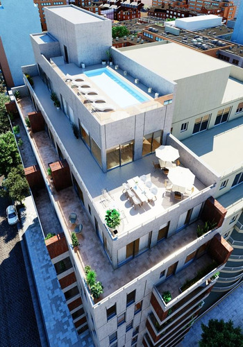 3 ambientes 69m2 en edificio premium