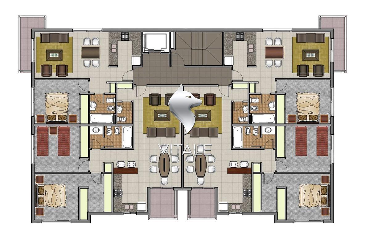 3 ambientes a estrenar centro inversion