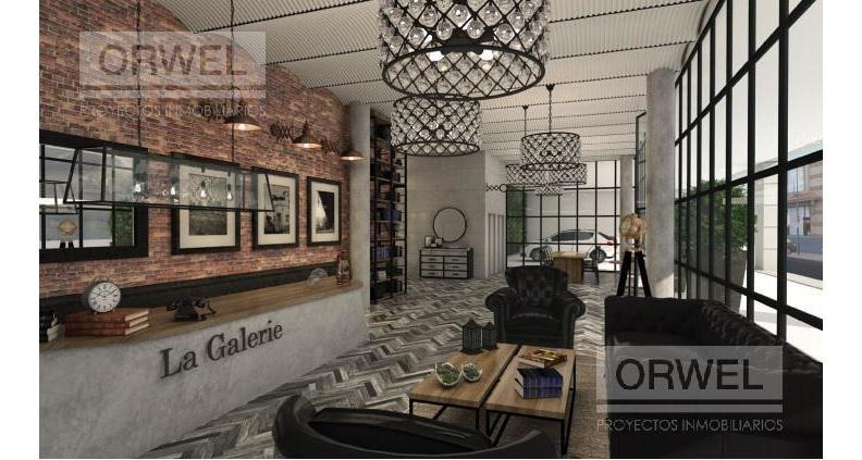 3 ambientes a estrenar con amenities. la galerie san telmo
